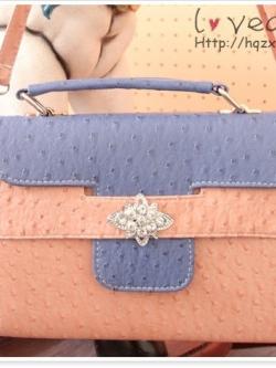 กระเป๋าแฟชั่นสไตล์ยุโรปทรงสี่เหลี่ยม