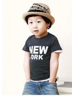 หมวกเด็กแฟชั่นแนวเกาหลี งานประณีตซับซ้อน พิมพ์ลายบนหมวก <มี4สี>