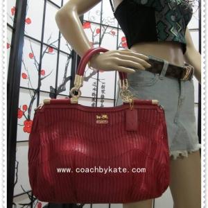 กระเป๋า COACH F32586 IMRED gathered leather