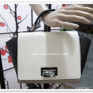 สินค้าอยู่ USA : กระเป๋า Kate Spade WKRU2851 small laurel magnolia park clocktower/black(089)