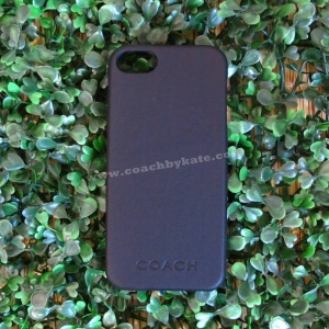 เคสไอโฟน COACH F66017 BLK CML MLD iPhone 5/5S Leather Case สีดำ