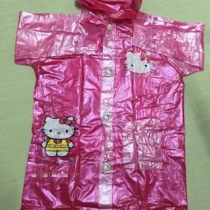 เสื้อกันฝนเด็ก คิตตี้ ชมพู***ไซส์ S, XL
