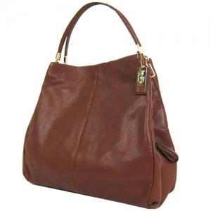 กระเป๋า COACH 24621 LICHT Madison Phoebe Leather Shoulder Bag
