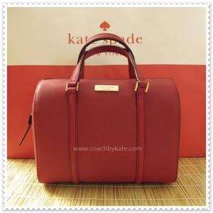 สินค้าอยู่ USA : กระเป๋า Kate Spade WKRU2852 mini Cassie New Bury lane Pillboxred 671