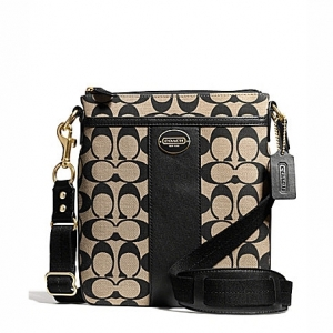 กระเป๋า COACH 50496 B4C0P Legacy Signature Logo Swing Pack Crossbody Bag