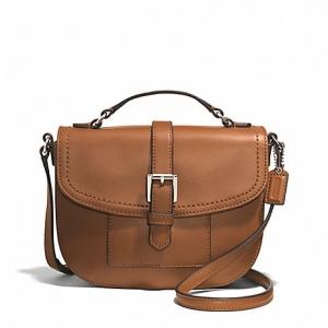กระเป๋า COACH F51286 SV/SD CHARLIE LEATHER ANDERSON CROSSBODY BAG