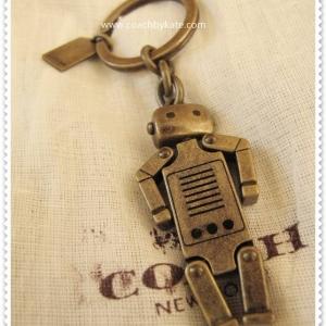 พวงกุญแจ COACH รูปหุ่นยนต์ C1