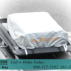 กระเป๋าหลังคารถยนต์ BagPacker พร้อม ผ้าคลุมกันฝน (ชุดลุยฝน)