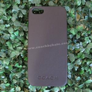 เคสไอโฟน COACH F66017 MAH CML MLD iPhone 5/5S Leather Case สีน้ำตาลมะฮ๊อกกานี