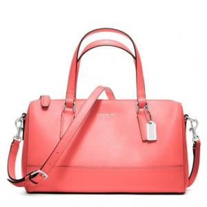 กระเป๋า COACH 49392 SV/CO SAFFIANO LEATHER YELLOW MINI SATCHEL งานช็อปค่ะ