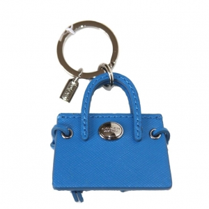พวงกุญแจ COACH F62508 SVCER Keychain Keyring Key Holder