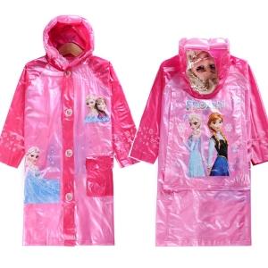 เสื้อกันฝนเด็ก โฟเซ่น สีชมพู ***ไซส์ Xl, XXL