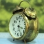 T0639 นาฬิกาปลุกเยอรมันโบราณ Jerger ส่ง EMS ฟรี thumbnail 2