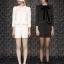 ViVi Party ++สินค้าพร้อมส่งค่ะ++ ชุดแฟชั่นเซ็ทเกาหลี เสื้อสูท แต่งริบบิ้นเก๋รอบตัว+กางเกงขาสั้น – สีขาว thumbnail 2