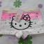 กางเกงชั้นในเด็กแบบขาสั้น ฮัลโหลคิตตี้ Hello kitty#11 size S สำหรับเด็กอายุ 2-4 ขวบ thumbnail 2