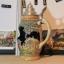M0412 แก้วเบียร์เยอรมันโบราณ RM ลวดลายนูนรูปชาวบ้านนั่งคุยกัน - ราคารวมค่าจัดส่ง EMS แล้ว thumbnail 7