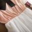 Dowisi ++สินค้าพร้อมส่งค่ะ++ชุดเดรสเซ็ท 2 ชิ้น ตัวใน เดรสสายเดี่ยว/ตัวนอก เสื้อแขนยาว คอกว้าง แต่งผูกเอวน่ารัก – สีชมพู thumbnail 12