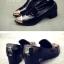Pre Order - รองเท้าแฟชั่น ของสาวทันสมัย ส้นเตี้ย ใส่สบาย thumbnail 3