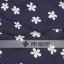 PreOrderไซส์ใหญ่ - เดรสแฟชั่น ไซส์ใหญ่ คนอ้วน ผ้าฝ้าย พิมพ์ลายดอกไม้เข้ารูป ผูกโบว์ด้านหลัง สไตล์ยุโรป สีน้ำเงิน thumbnail 5
