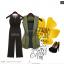 OUREMU ++สินค้าพร้อมส่งค่ะ++Jumpsuit กางเกงขายาวเกาหลี คอกลม แขนกุด ตัวเสื้อตาข่าย ด้านหลังแฉกเกาะกระดุม ทรงสวย – สีดำ thumbnail 6