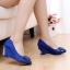 Pre Order - รองเท้าแฟชั่น ติดโบว์ด้านห้า ส้นสูง 3-5cm thumbnail 4