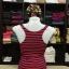 เสื้อกล้ามหลังสปอร์ต ลายริ้วสีแดง-กรมท่า thumbnail 1
