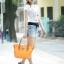 (พรีออเดอร์) กระเป๋าแฟชั่น มีสายสะพายยาว ข้างในมีกระเป๋าใบเล็กอีกหนึ่งใบ thumbnail 1