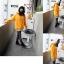 Pre Order - เสื้อกันหนาวแฟชั่น ดีไซด์สดใส : สีส้ม / สีเขียว / สีน้ำเงิน / สีเทา thumbnail 8