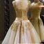 wedding ชุดแต่งงานเจ้าสาวแสนสวย หรูหรา สง่างามด้วยลูกไม้และผ้าสีทองค่ะ thumbnail 3