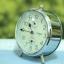 T0649 นาฬิกาปลุกเยอรมันโบราณ Twins ส่ง EMS ฟรี thumbnail 2