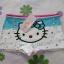 กางเกงชั้นในเด็กแบบขาสั้น ฮัลโหลคิตตี้ Hello kitty#12 size S สำหรับเด็กอายุ 2-4 ขวบ thumbnail 2