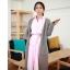 ++สินค้าพร้อมส่งค่ะ++ เสื้อแฟชั่นเกาหลี คอปก แขนยาว ผ้าฝ้ายเนื้อดี ดีไซด์เท่ห์ แต่งเก๋คู่กับเข็มขัด 1 เส้น มี 3 สีค่ะ – สีชมพู thumbnail 3