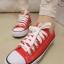 Pre Order - รองเท้าผ้าใบแฟชั่น เรียบ ๆ เรียบร้อย สี : สีขาว / สีดำ / สีแดง thumbnail 2