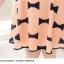 Pre Order - เดรสแฟชั่นเกาหลี คนอ้วน Big Size แขนสั้น พิมพ์ลายผ้าเป็นโบว์ สี : สีดำ / สีส้ม thumbnail 11