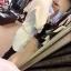 Chanel++สินค้าพร้อมส่งค่ะ++ชุดเซ็ทเกาหลี เสื้อคอกลม แขนห้าส่วน ผ้า Cotton Space เนื้อดีปักลายผึ้งทั้งตัวและกางเกงขาสั้นเข้าชุด มี 2 สีค่ะ สีขาว thumbnail 4