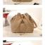 ++พร้อมส่ง++กระเป๋าแฟชั่น แบรนด์ Axixi สีำกากี thumbnail 4