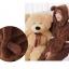 ++สินค้าพร้อมส่งค่ะ++ชุดเซ็ทน่ารัก เสื้อแขนยาว มี hood หูหมีน่ารัก ผ้าขนแกะนิ่มมาก+กางเกงขายาวเอวจั้มแบบยางยืด – สี น้ำตาลเข้ม thumbnail 2