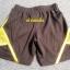 ฺBP-006 (4Y,7Y) กางเกงกีฬา Nike สีดำ ติดแถบเหลือง ปักแบรนด์ Nike สีเหลือง thumbnail 2