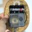 T0730 นาฬิกาแขวนตุ้มแกว่ง โลหะ Germany ใช้ถ่าน ตีกิ๊งทุกชั่วโมงเดินดีตีดี ส่ง EMS thumbnail 7