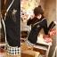 ++สินค้าพร้อมส่งค่ะ++ เสื้อสูท สไตล์เกาหลี เนื้อดี ดีไซด์กลาสี ปักที่กระเป๋าบนอก และมีกระเป๋าคู่ล่าง ขลิบขอบรอบตัวเสื้อ - สีดำ thumbnail 2