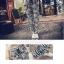 ++สินค้าพร้อมส่งค่ะ++ชุดเซ็ทเกาหลี เสื้อสายเดี่ยว ผ้าลูกไม้สวยหวาน+กางเกงขายาว ฝ้ายเนื้อนิ่ม สไตล์ Harem หวานและเก๋มาก – สีขาว thumbnail 6