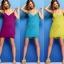 Pre Order - ชุดคลุมว่ายน้ำแฟชั่น ใช้ใส่เป็นชุดคลุม หรือ คลุมเฉย ๆ ก็ได้ ฟรีไซด์ สี : สีม่วง / สีขาว / สีดำ / สีน้ำเงิน / สีเหลืองทอง thumbnail 6