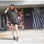 Pre Order - เสื้อแฟชั่นเกาหลี ใส่สลาย ปลายแขนและชายเสื้อเย็บผ้าชีฟอง ตัวใหญ่เหมาะกับฤดูร้อน สี : สีขาว / สีดำ thumbnail 3