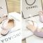 Pre Order - รองเท้าแฟชั่นเกาหลี แบบลำลอง หวาน ๆ เน้นรูปทรงเท้า สี : สีน้ำเงิน / สีเขียว / สีม่วง / สีขาว thumbnail 11