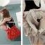 (พรีออเดอร์) กระเป๋าแฟชั่น กระเป๋าหนังเทียม ดีไซด์ ของสาวน่ารัก ๆ thumbnail 4