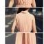 ++สินค้าพร้อมส่งค่ะ++ชุดเดรสเกาหลี ยาว คอปก แขนกุด กระดุมหน้า จั้มเอวนิดๆ ช่วงกระโปรงพรีทยาว แต่งกระเป๋า 2 ข้าง - สีชมพู thumbnail 10