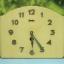 T0681 นาฬิกาแขวนไขลานเยอรมันโบราณ Junghans ส่ง EMS ฟรี thumbnail 1