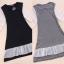 ++เสื้อผ้าไซส์ใหญ่++ Qiaoyi *Pre-Order *ชุดเดรสเกาหลีไซส์ใหญ่แขนยาวผ้าฝ้ายเนื้อนุ่มแต่งระบายด้วยผ้าชีฟองน่ารักมากค่ะ thumbnail 10