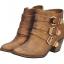 Pre Order - รองเท้าบูทแฟชั่น ส้นสูง หัวเข็ม ซิปด้านข้าง สี : สีทอง / สีเทา / สีดำ thumbnail 1