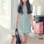 London, denim dress ลด 50% thumbnail 2